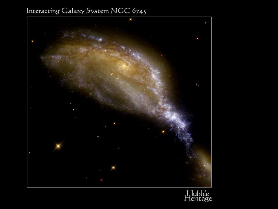 N6745 spiral messy collision
