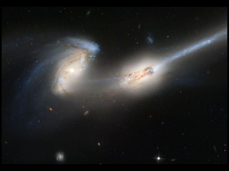 NGC 4676 tidal tails