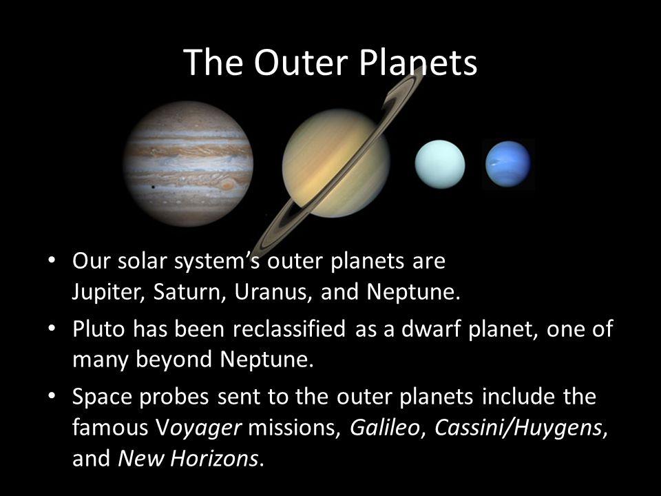 Neptune's Characteristics Atmosphere is similar to that of Uranus.