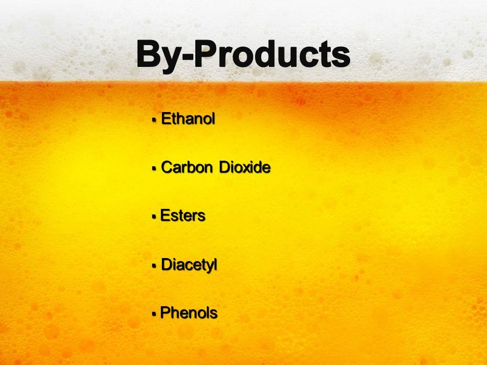  Ethanol  Carbon Dioxide  Esters  Diacetyl  Phenols