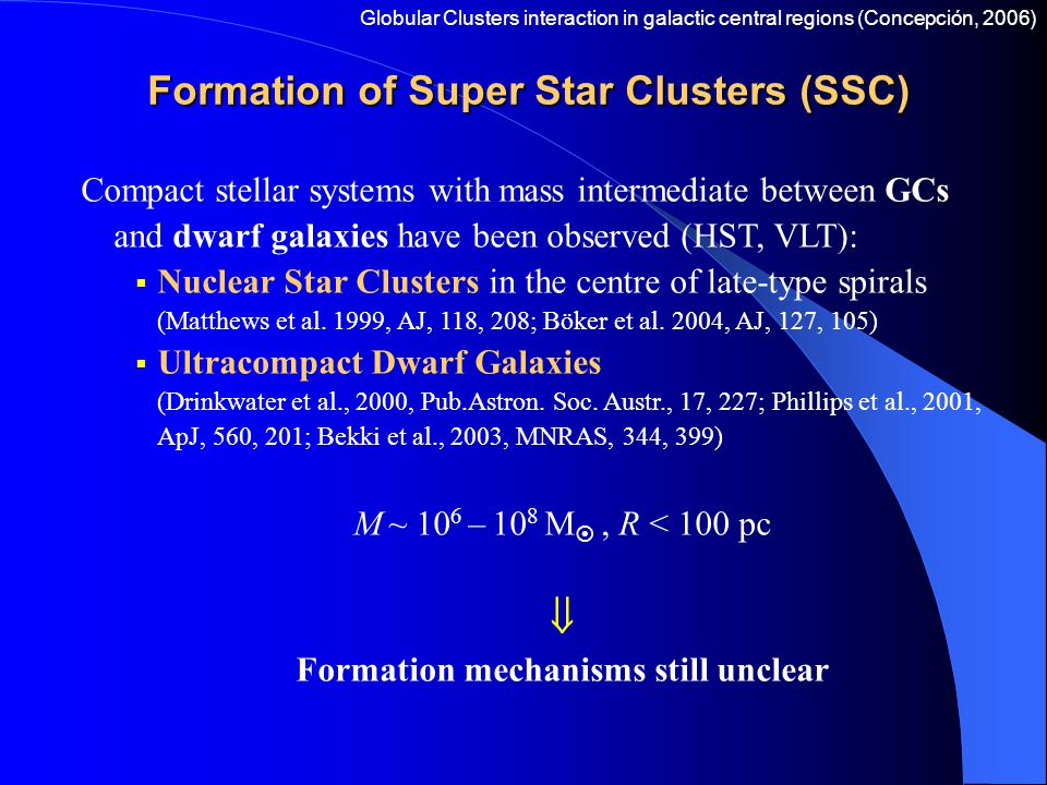 Conclusions  The 4 clusters merge in  18 galactic core crossing times (  14 Myr) starting from  100 pc from the galactic centre.