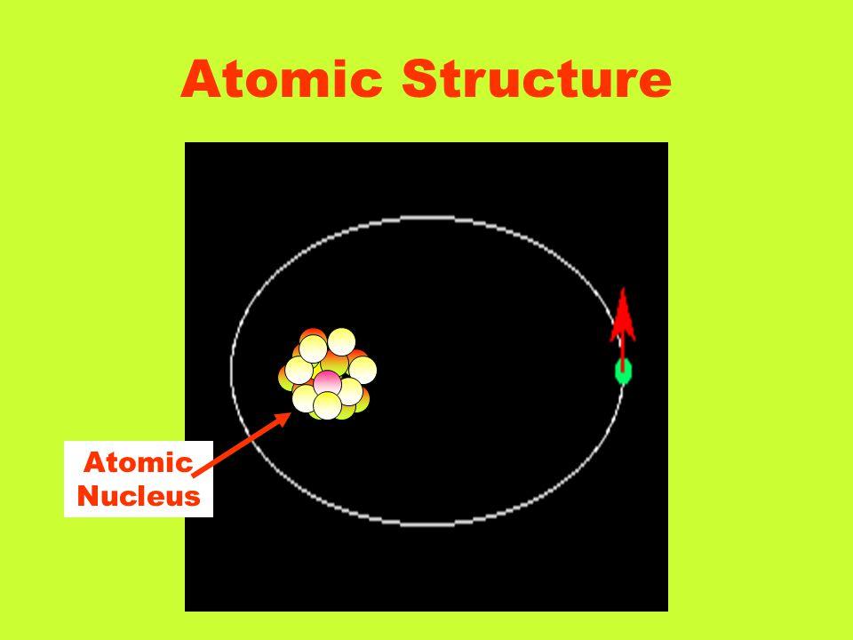 Atomic Structure Atomic Nucleus