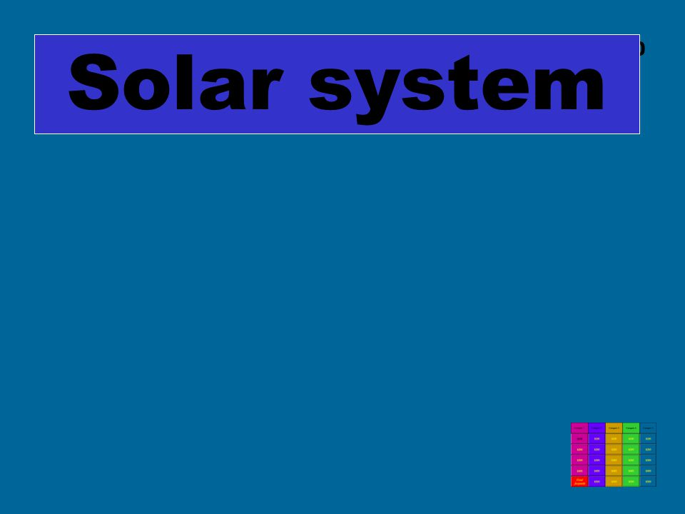 C5 $400 Solar system