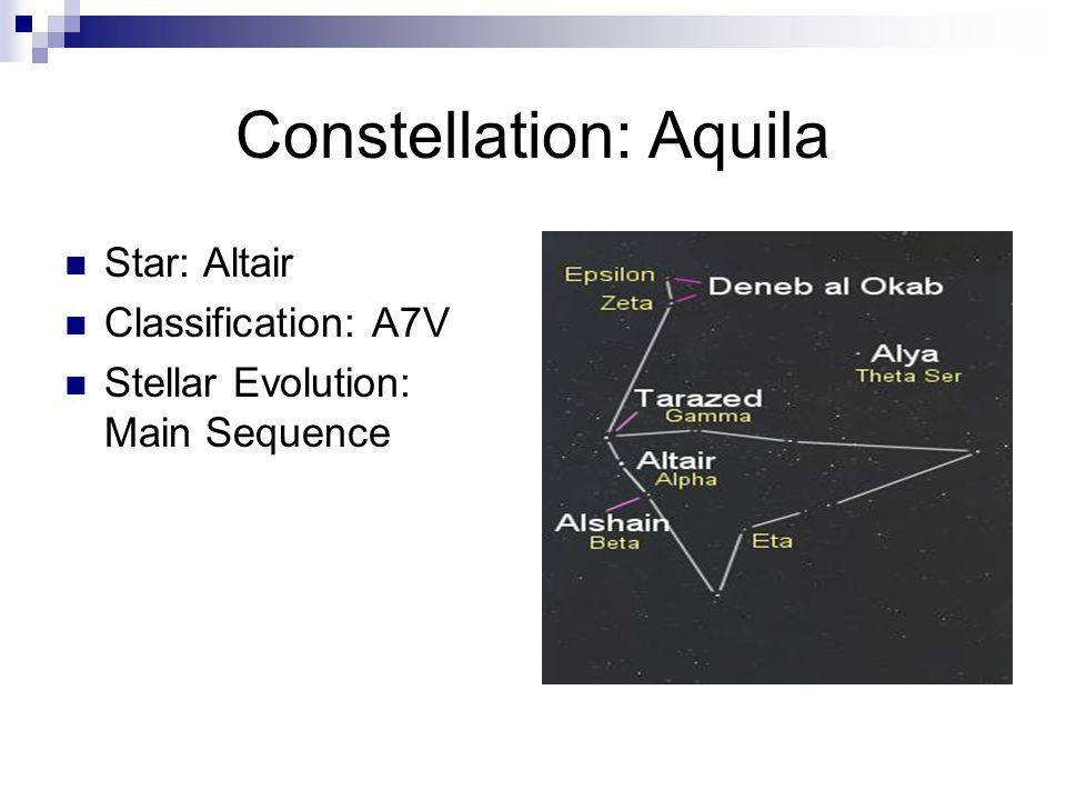 Constellation: Auriga Star: Capella Classification: G5III+G0III Stellar Evolution: Red Giant