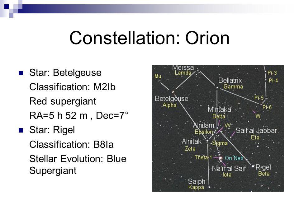 Constellation: Orion Deep Sky Object: Orion Nebula – M42 Copyright © 1995-2006 Noel Carbon