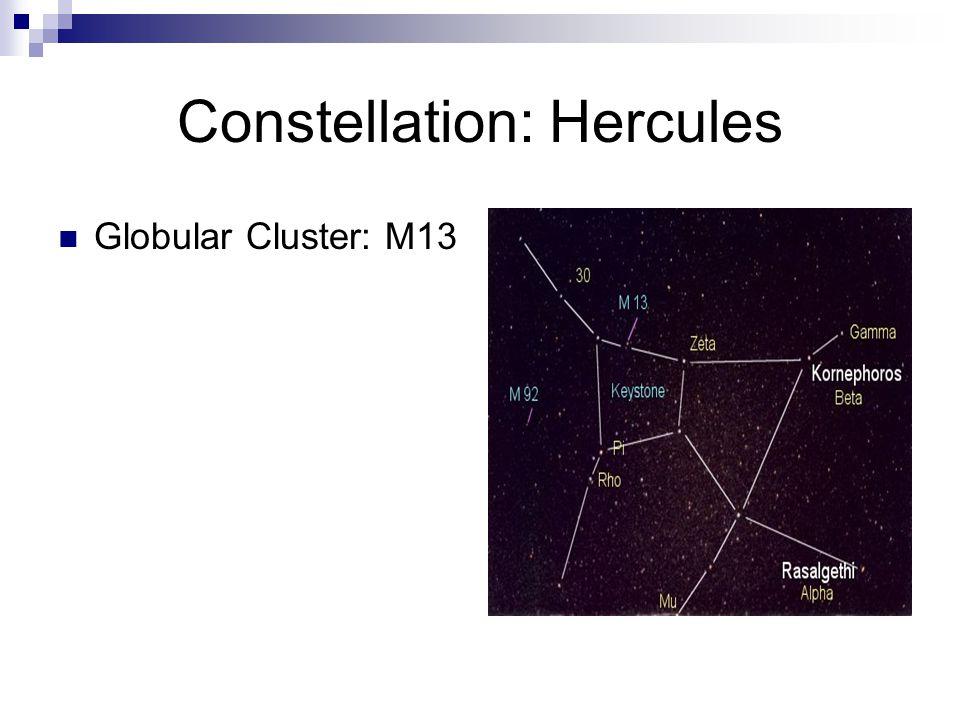 Constellation: Hercules Globular Cluster: M13 Copyright © 1995-2006 Noel Carboni