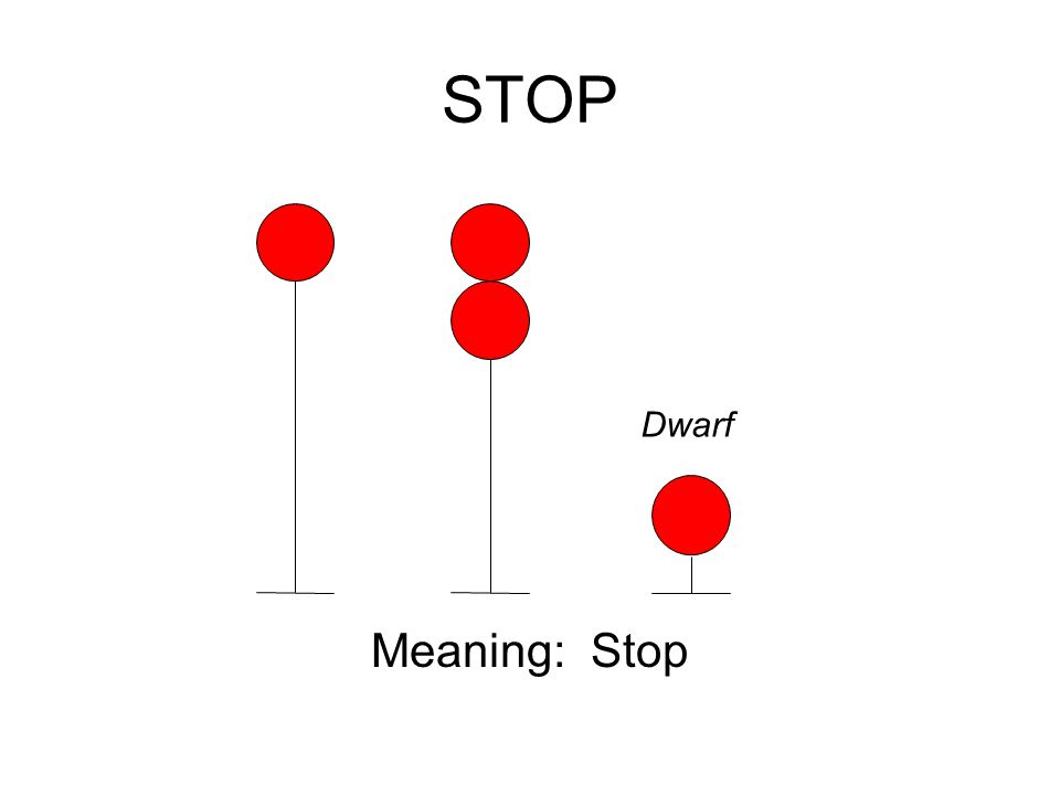 STOP Meaning: Stop Dwarf