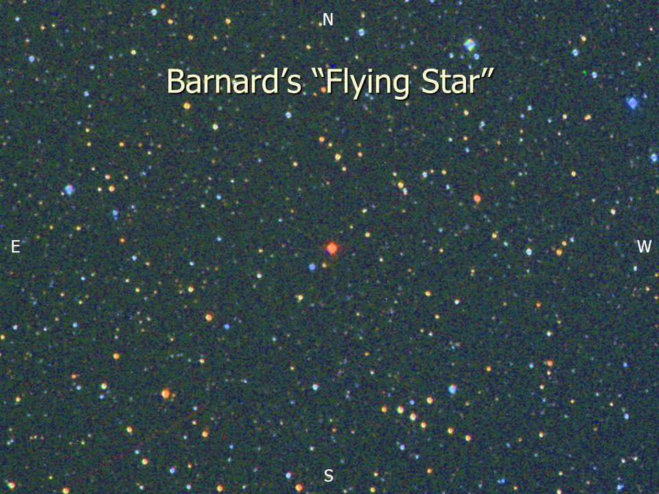 N S EW Barnard's Flying Star