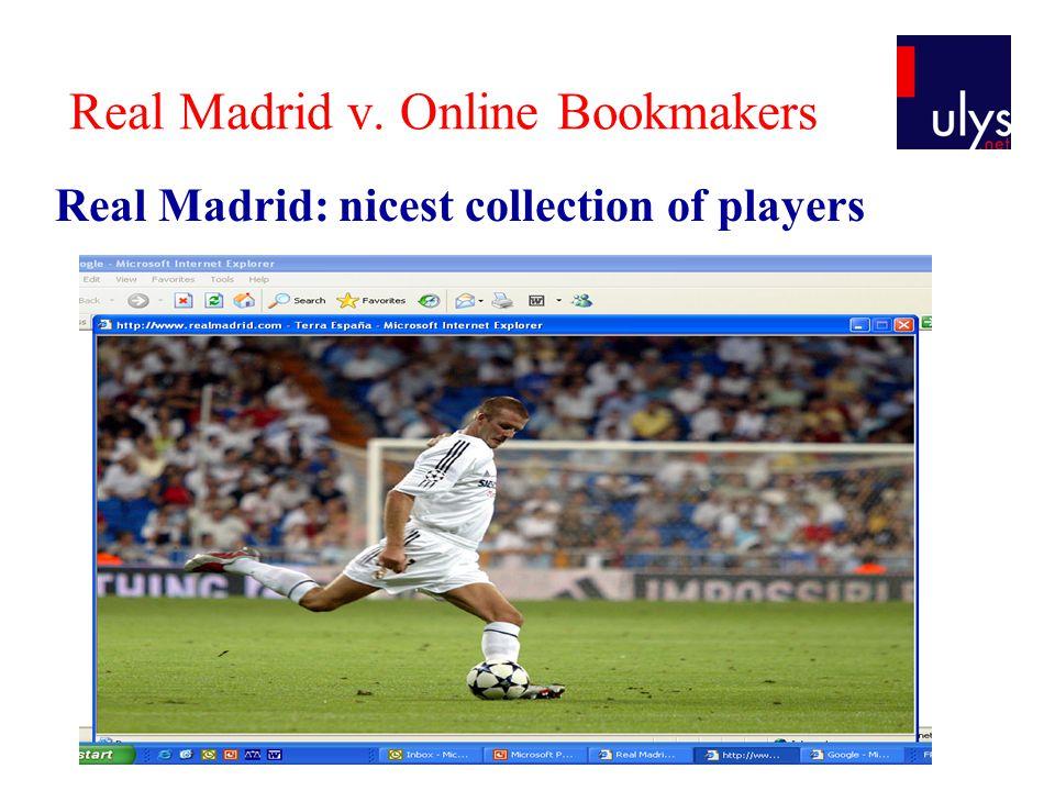 Real Madrid v.