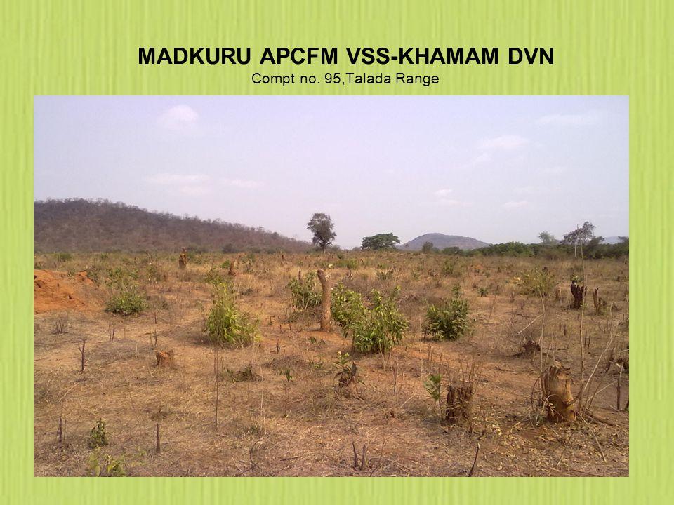 MADKURU APCFM VSS-KHAMAM DVN Compt no. 95,Talada Range