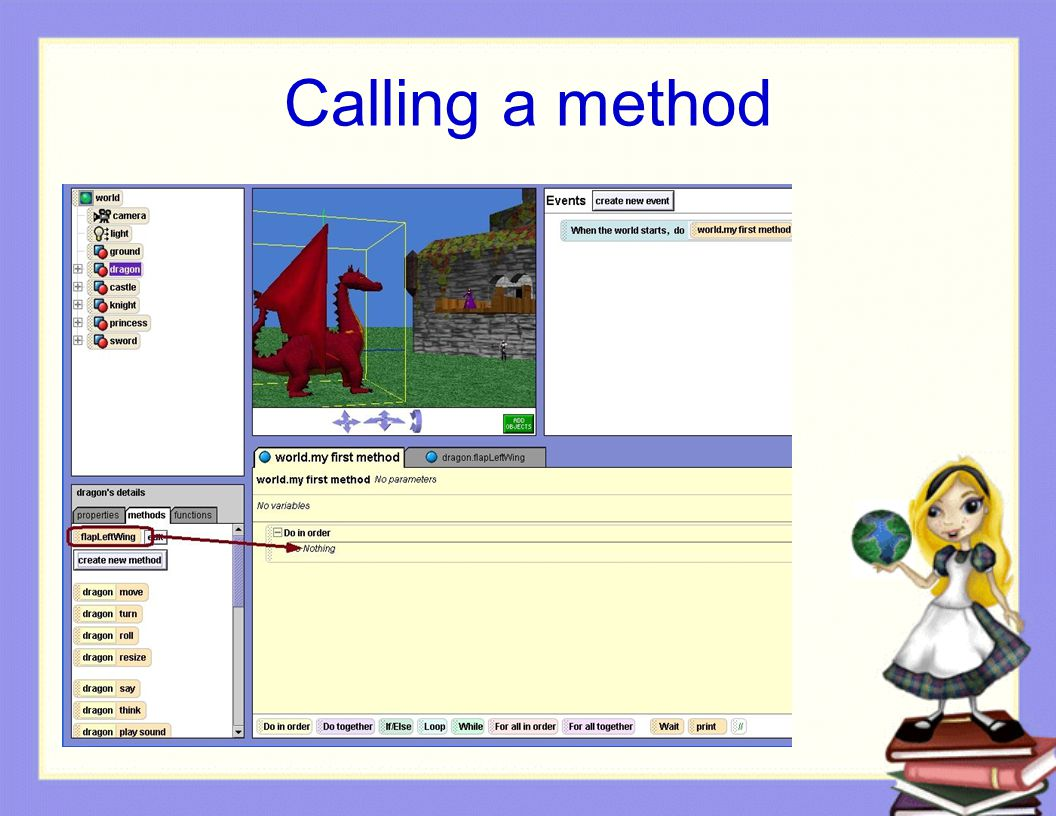 Calling a method