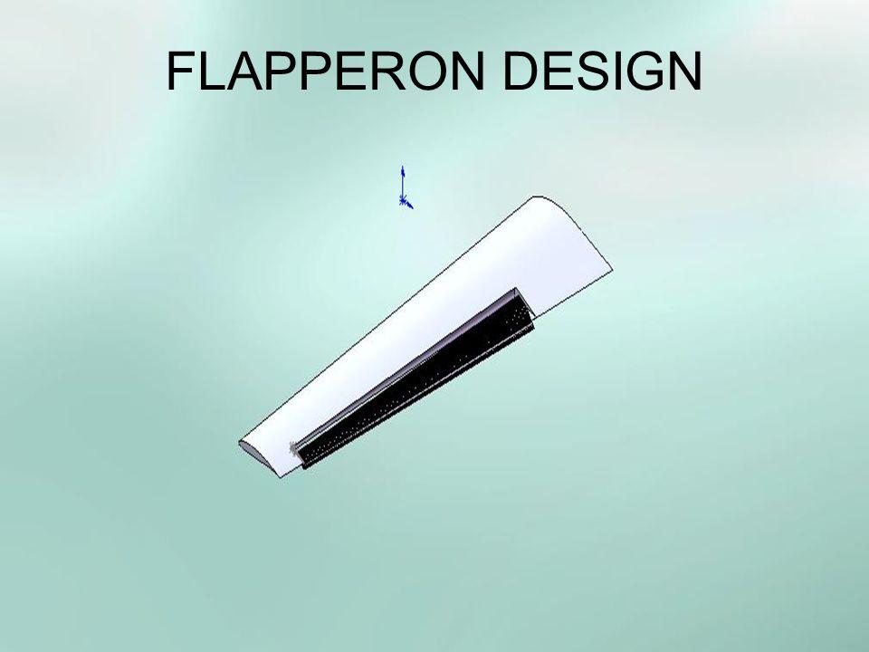 FLAPPERON DESIGN