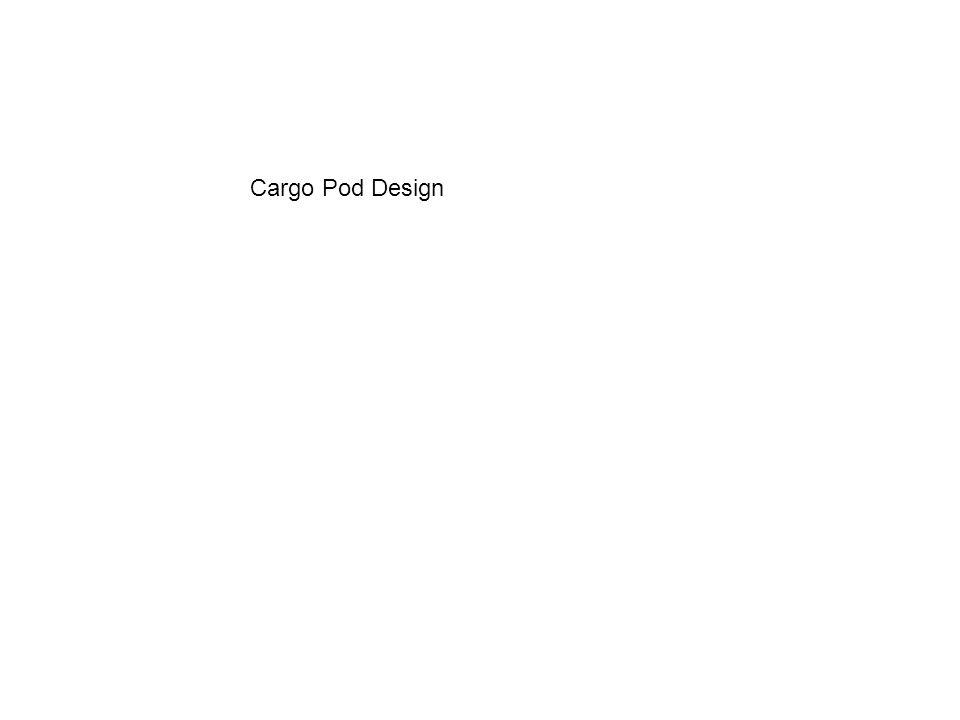 Cargo Pod Design