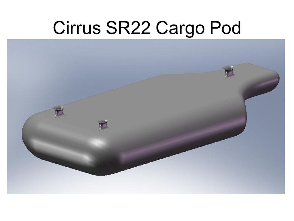 Cirrus SR22 Cargo Pod