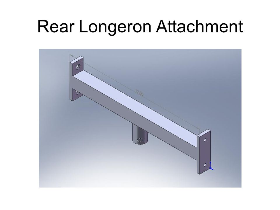 Rear Longeron Attachment