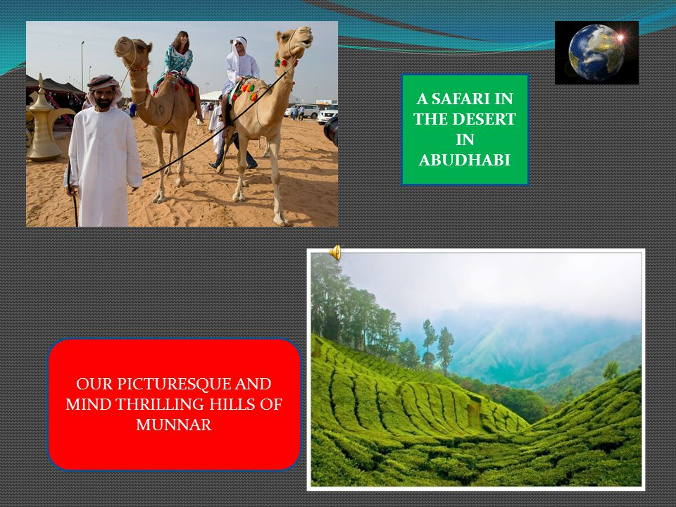 A SAFARI IN THE DESERT IN ABUDHABI OUR PICTURESQUE AND MIND THRILLING HILLS OF MUNNAR