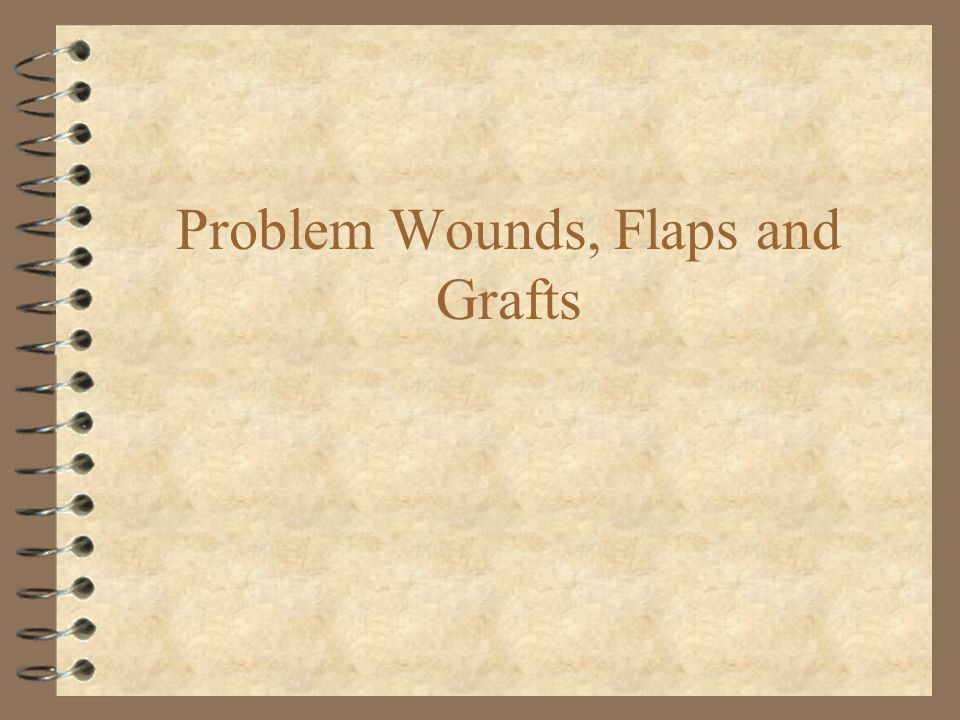Wound care priorities 4 Discover and treat injuries to critical deep structures 4 Cover critical deep structures with skin 4 Prevent infection, suture only when necessary 4 Maintain function unhindered by contracture 4 Cosmesis is a distant fifth priority