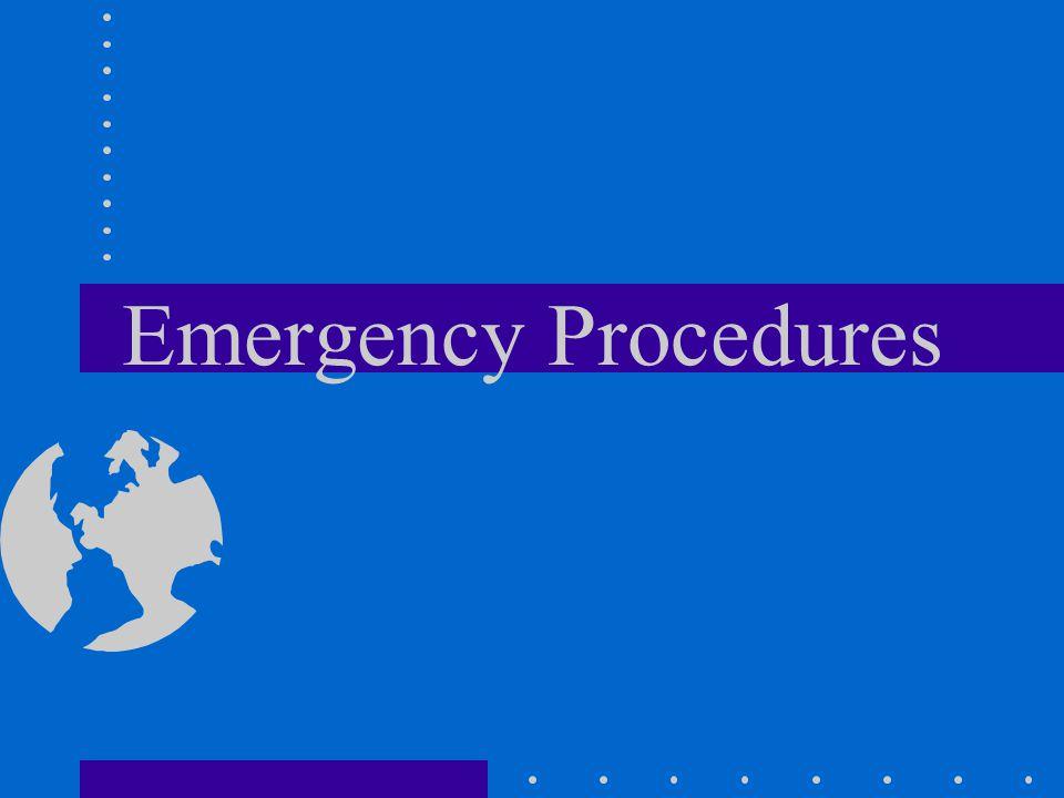 Emergency Procedures