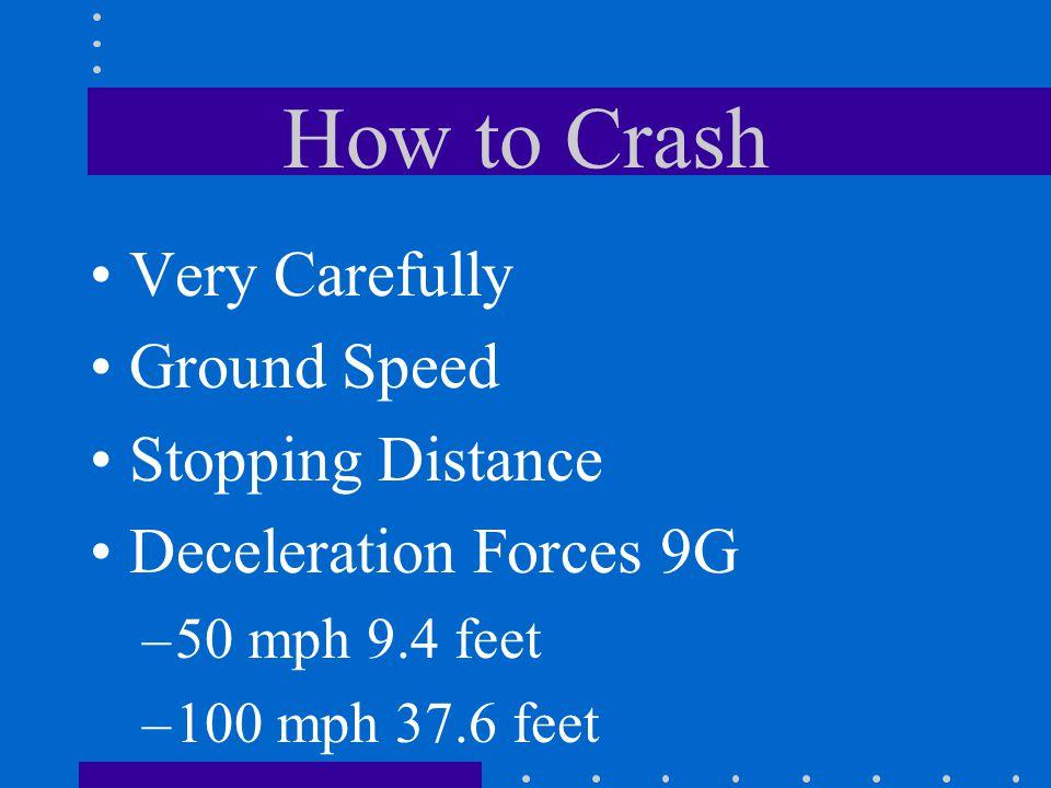 Emergency Approach & Landing Size of landing area Obstructions Key Position