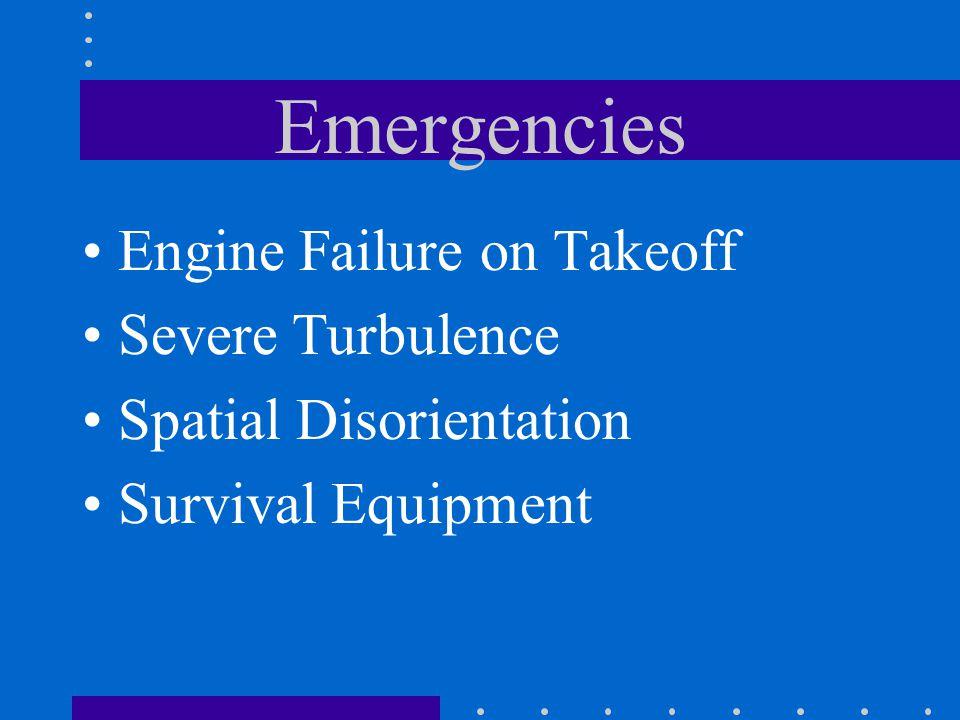 Emergencies ELT Diversion High Oil Temperature Exhaust Leak