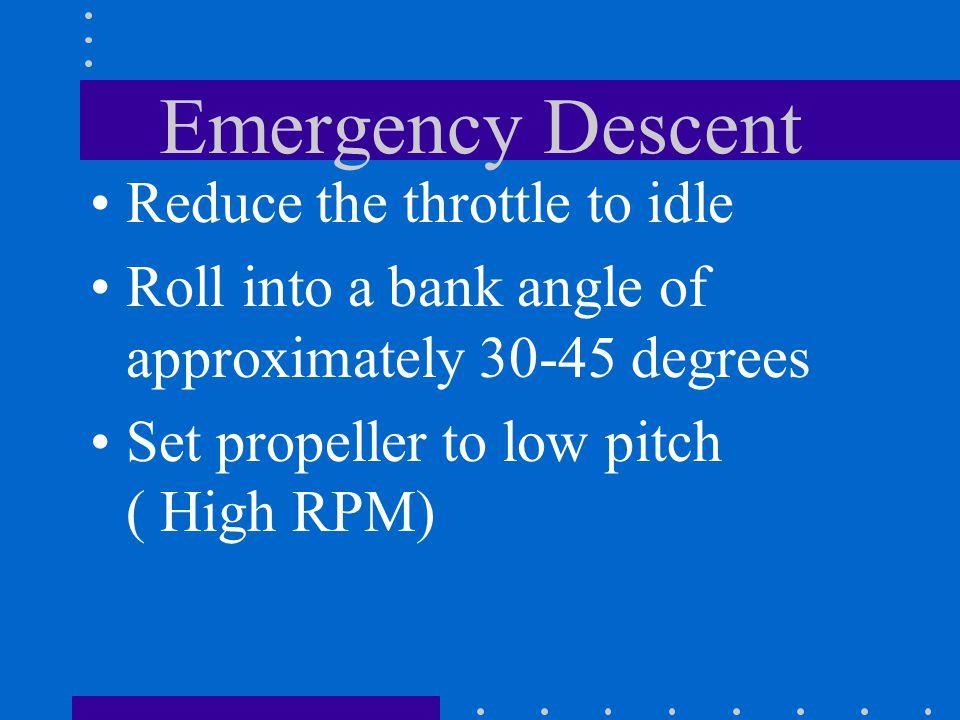 Emergency Descent How?