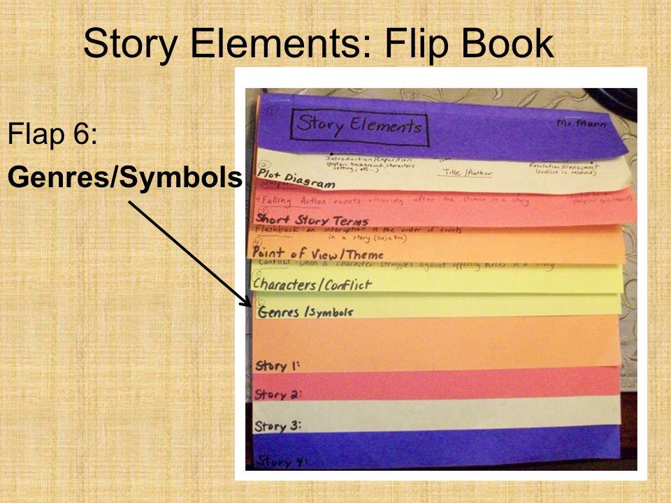 Story Elements: Flip Book Flap 6: Genres/Symbols