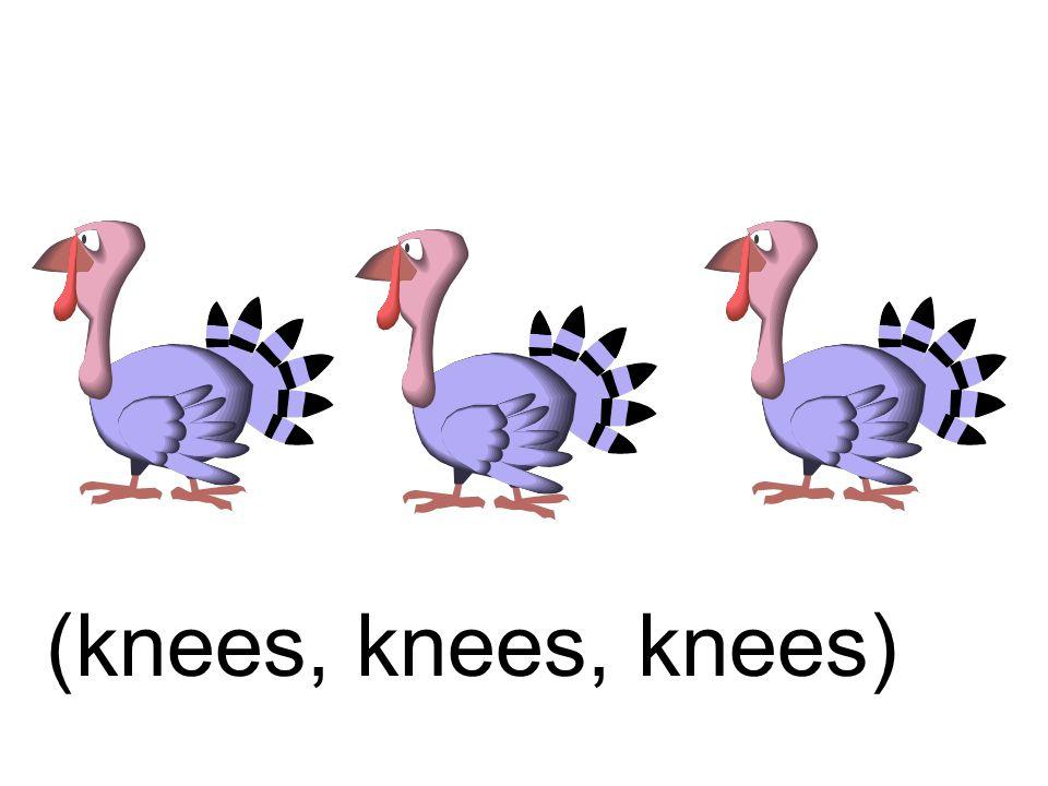 (knees, knees, knees)