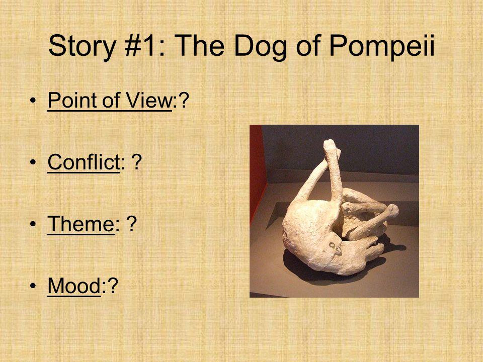 Story #1: The Dog of Pompeii Label the Plot Diagram: