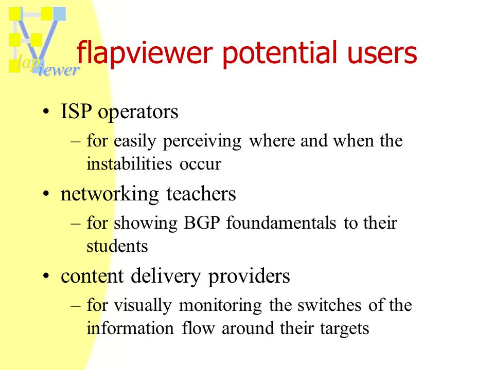 lap iewer future targets (2003) may 2003: hermes ver.