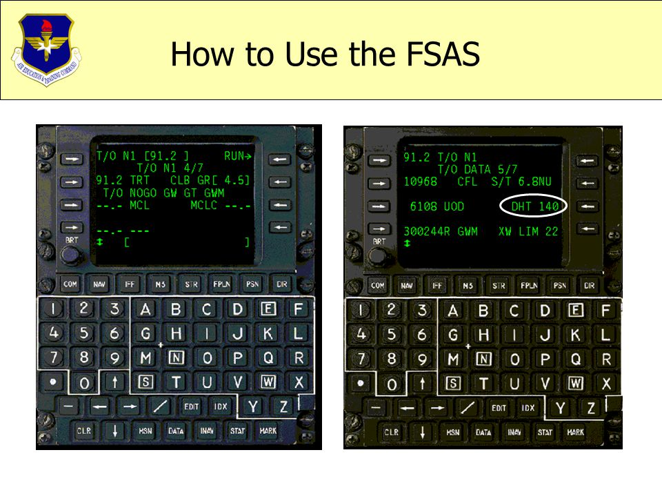 How to Use the FSAS