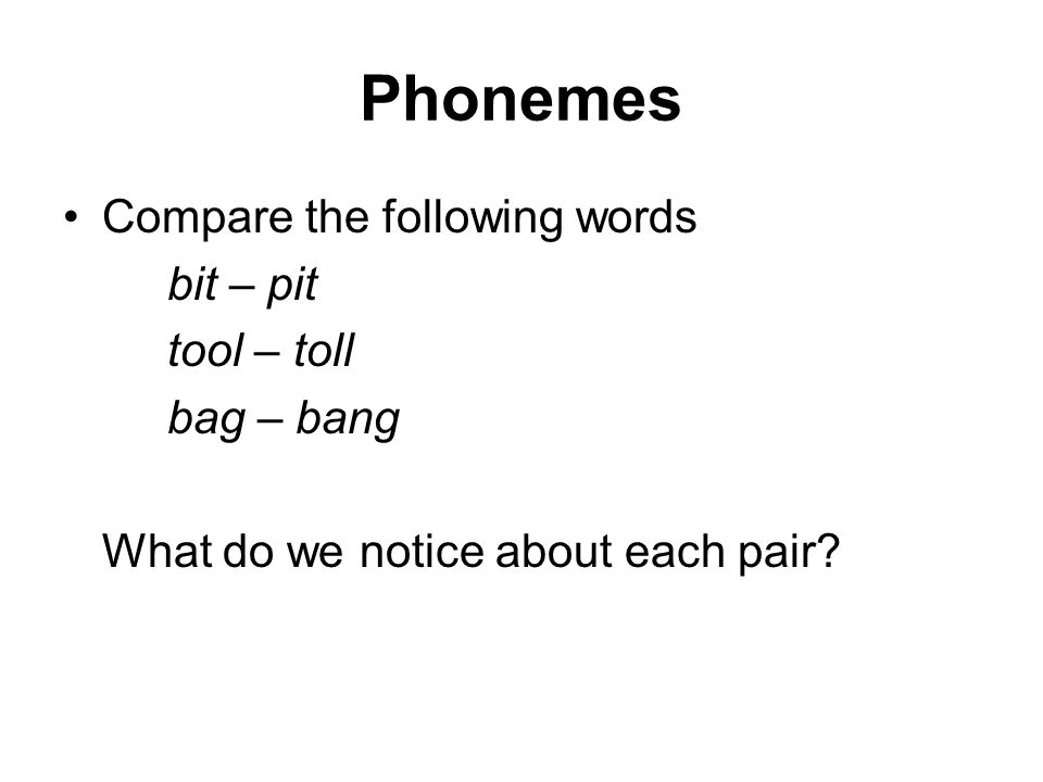 Phonological processes Phonological processes are systematic They operate throughout the vocabulary and speech stream, according to principles (rules) which can be induced