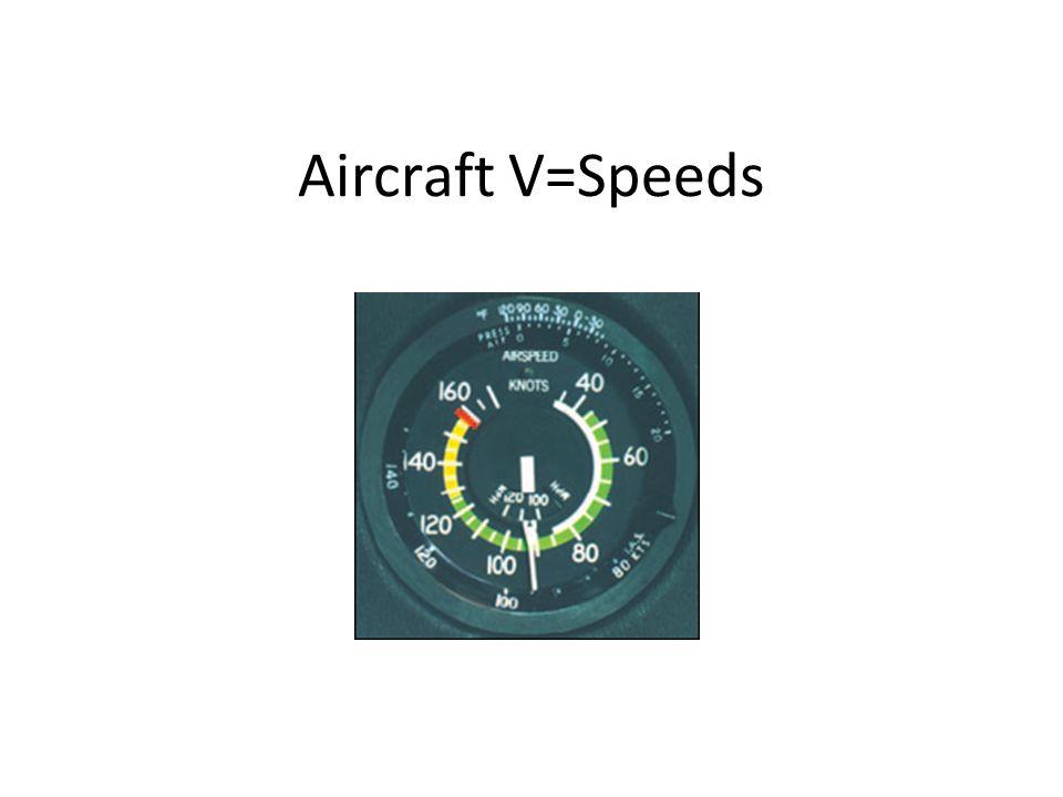 Aircraft V=Speeds