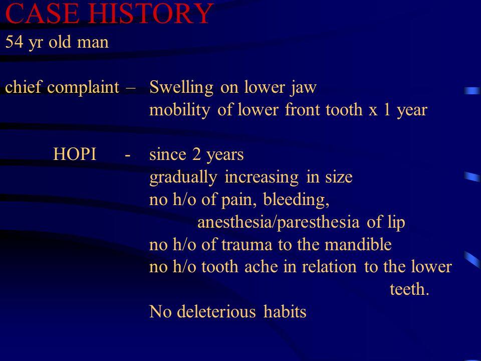 AMELOBLASTIC CARCINOMA No definite sex / age/ race predilection Mandible most commonly involved area.