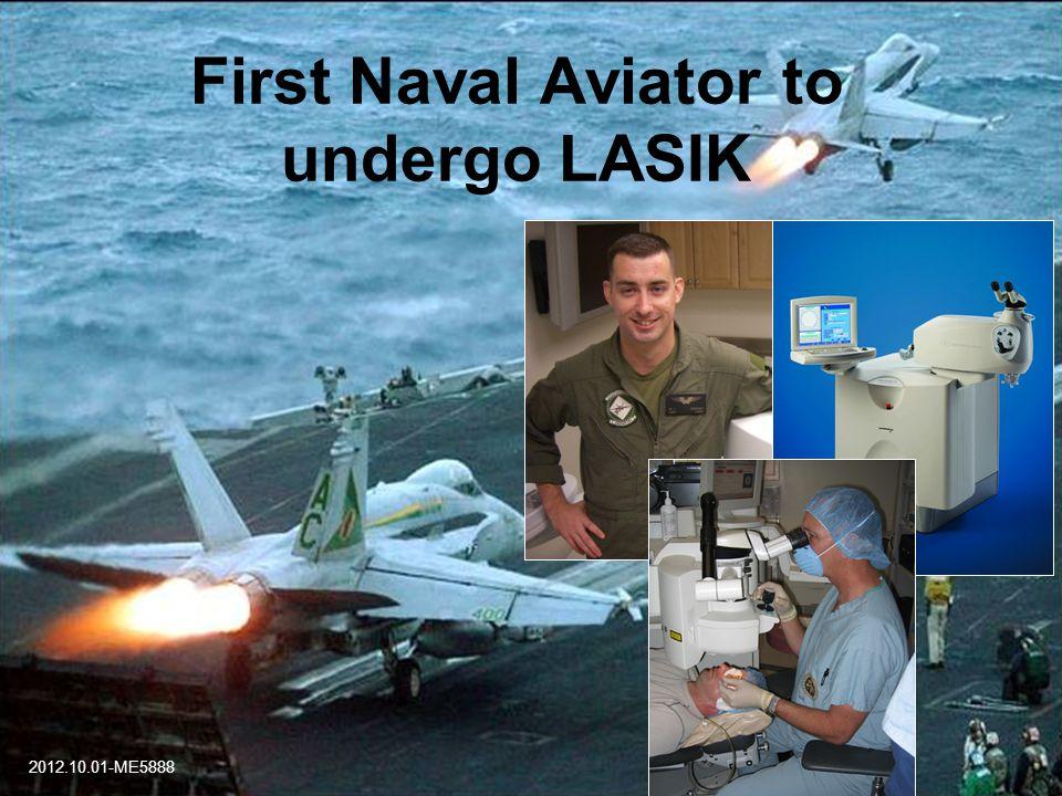 First Naval Aviator to undergo LASIK 2012.10.01-ME5888