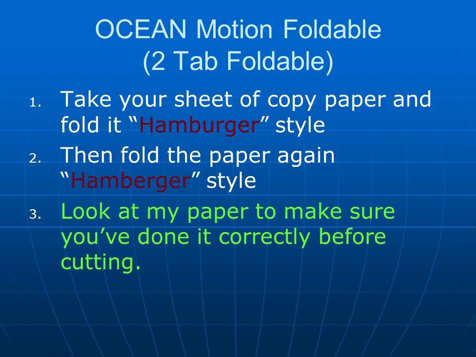 OCEAN Motion Foldable (2 Tab Foldable) 1.1.