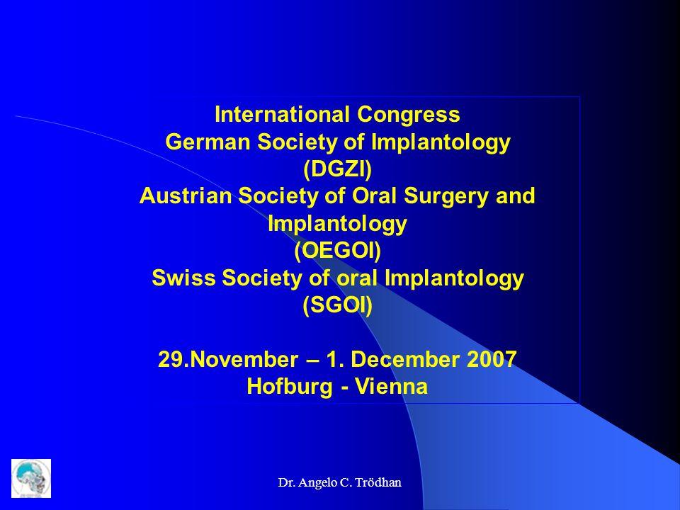 Dr. Angelo C. Trödhan Surgical Protocol