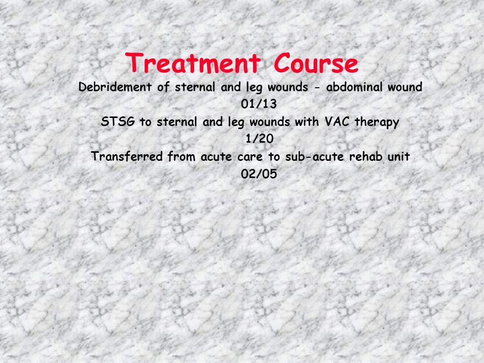 4/18 NG tube feeding Hyperbaric Oxygen Treatments