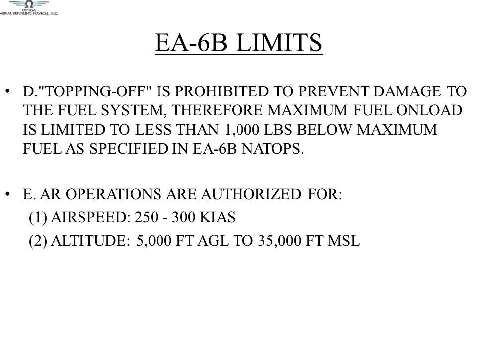 EA-6B LIMITS D.