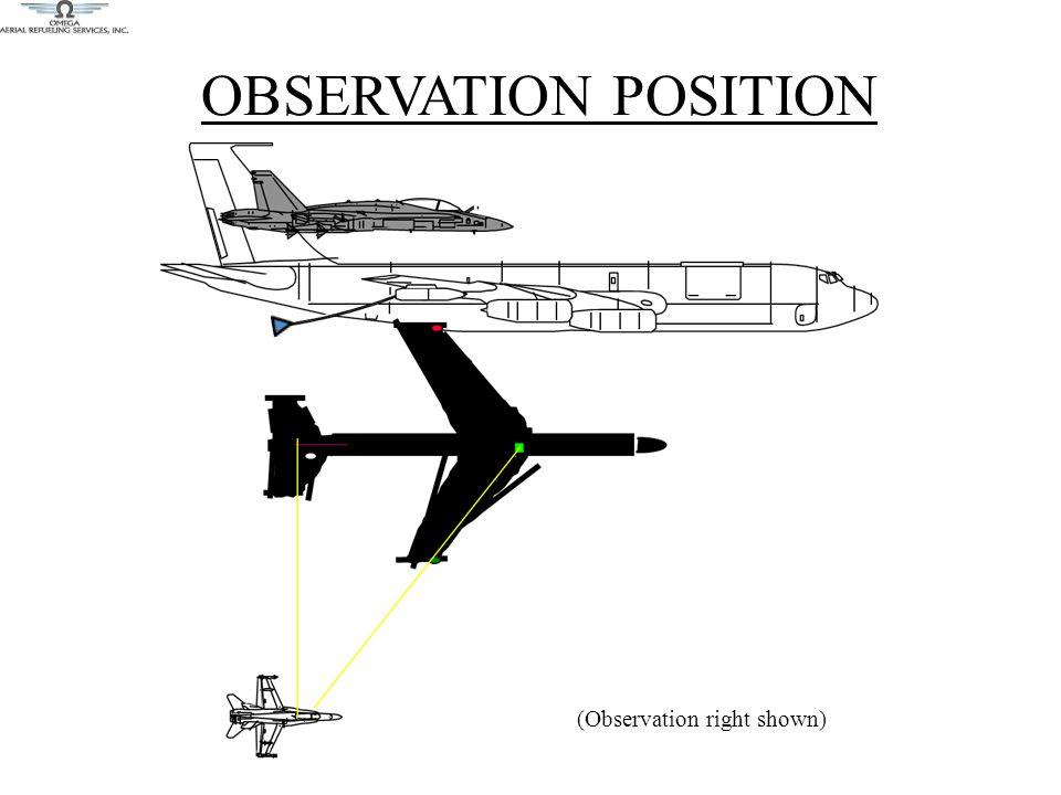 OBSERVATION POSITION (Observation right shown)