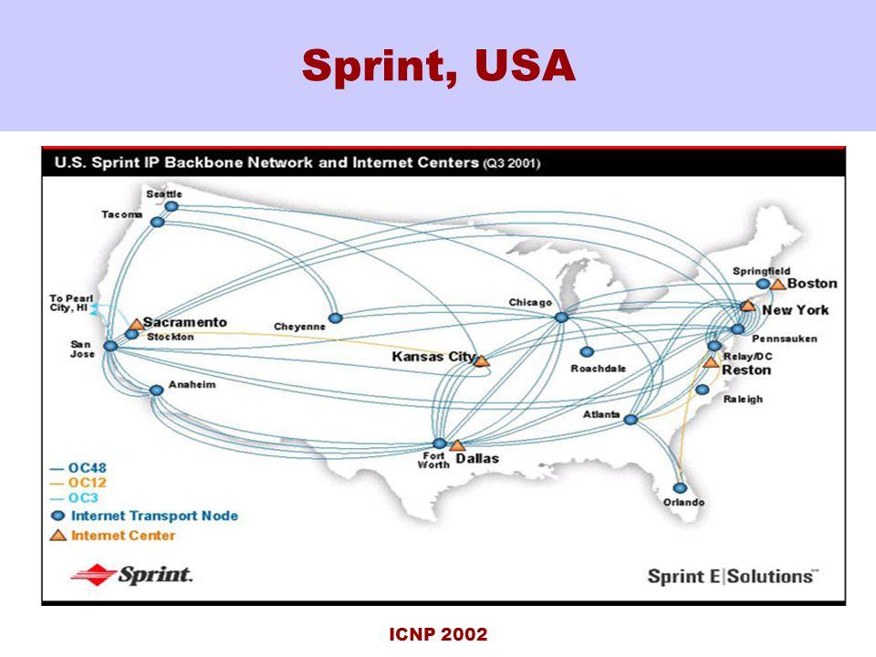 ICNP 2002 Sprint, USA