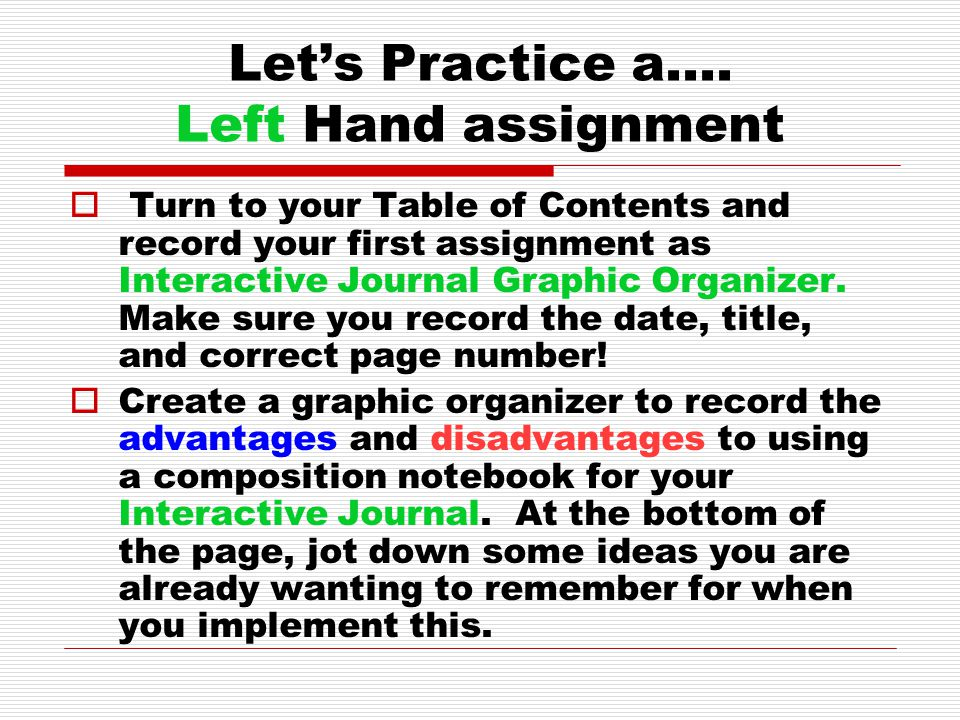 Let's Practice a….