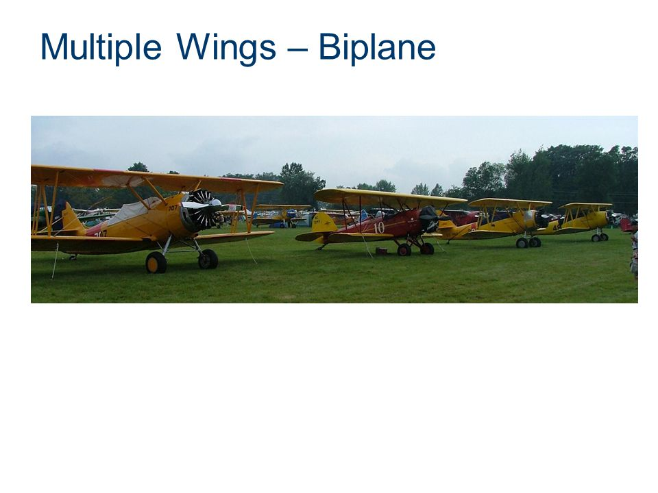 Multiple Wings – Biplane