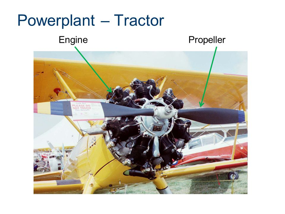 Powerplant – Tractor EnginePropeller