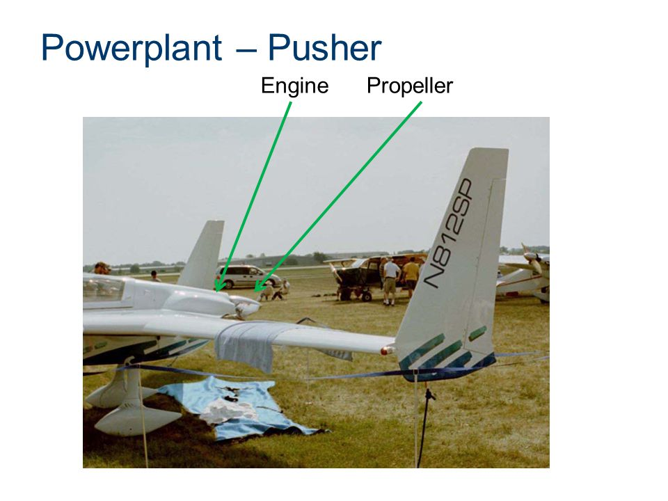 Powerplant – Pusher EnginePropeller