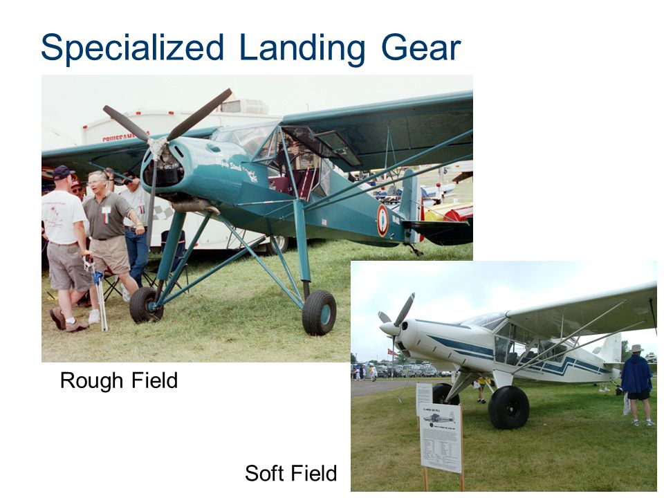 Specialized Landing Gear Rough Field Soft Field