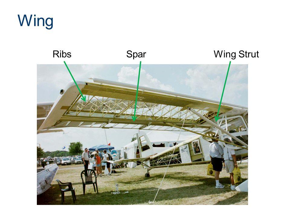 Wing Wing StrutRibsSpar