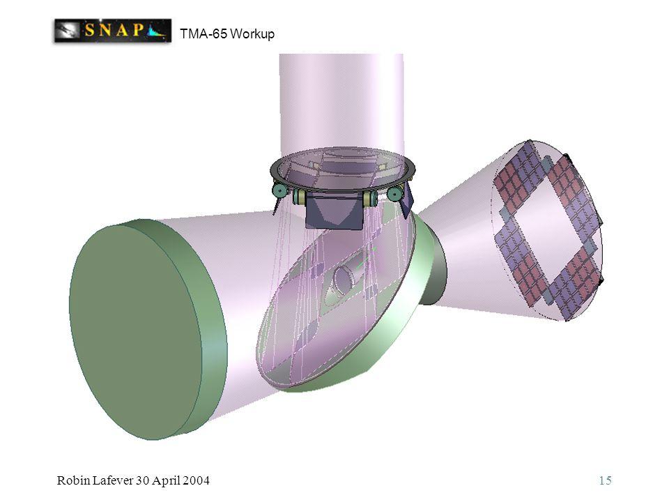 TMA-65 Workup Robin Lafever 30 April 200415