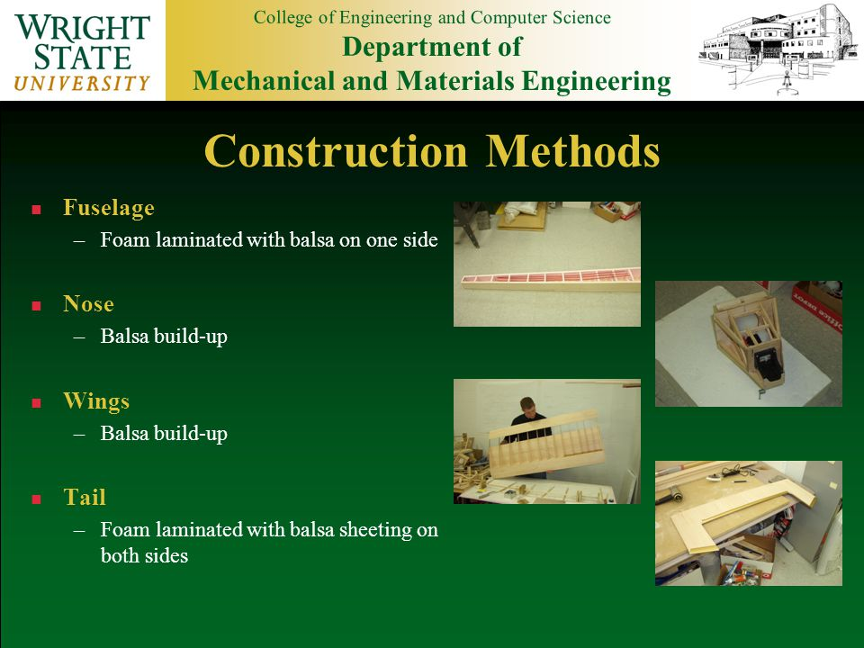 College of Engineering and Computer Science Department of Mechanical and Materials Engineering Design Page #2