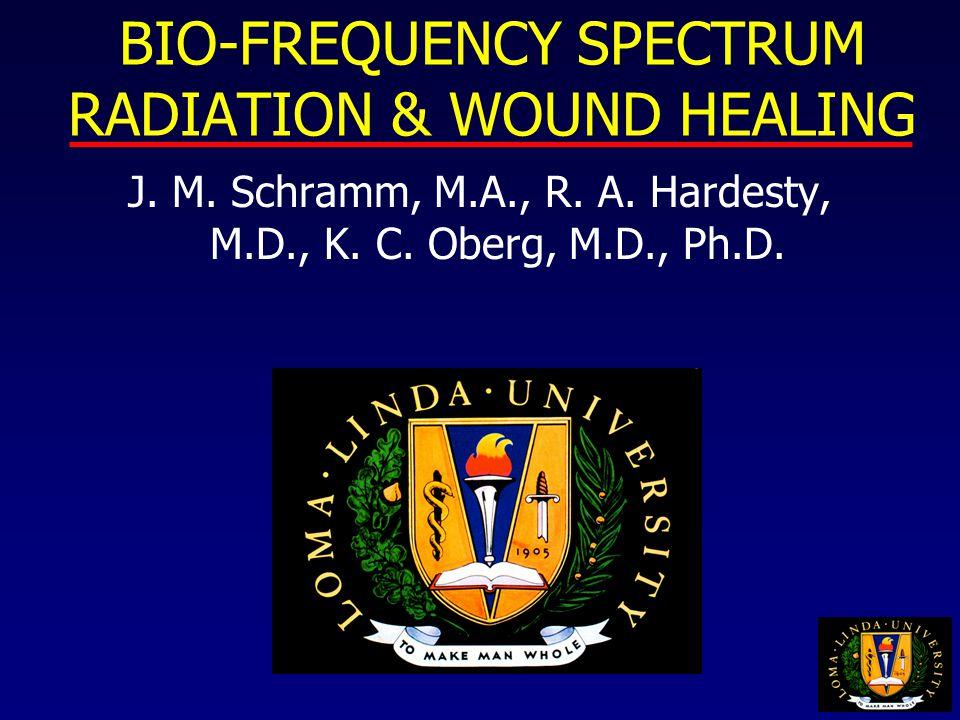 BIO-FREQUENCY SPECTRUM RADIATION & WOUND HEALING J.