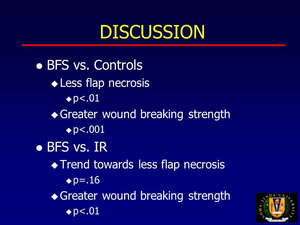DISCUSSION l BFS vs.
